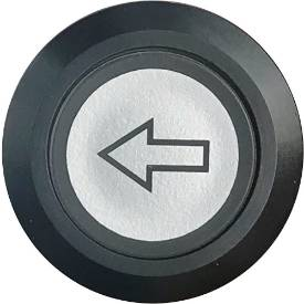 Picture of Indicator / Arrow Switch Illuminated Black Bezel