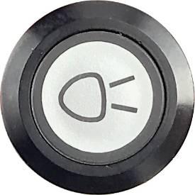 Picture of Side Light Switch Illuminated Black Bezel