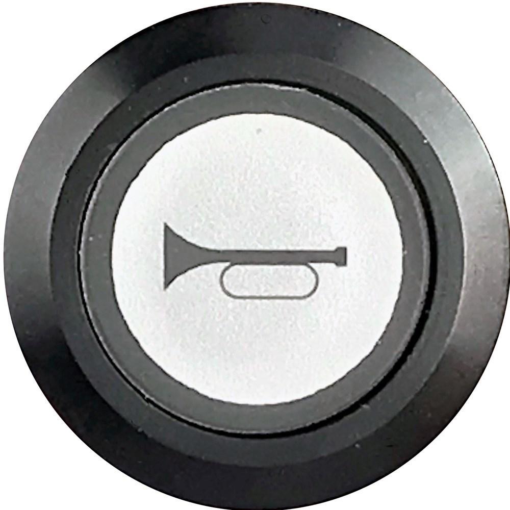 Momentary Horn Switch Illuminated Black Bezel Car
