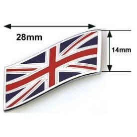 Picture of Wavy Chrome and Enamel Union Jack Emblem