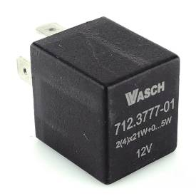 Picture of Black Electronic Flasher Relay 98 Watt Max