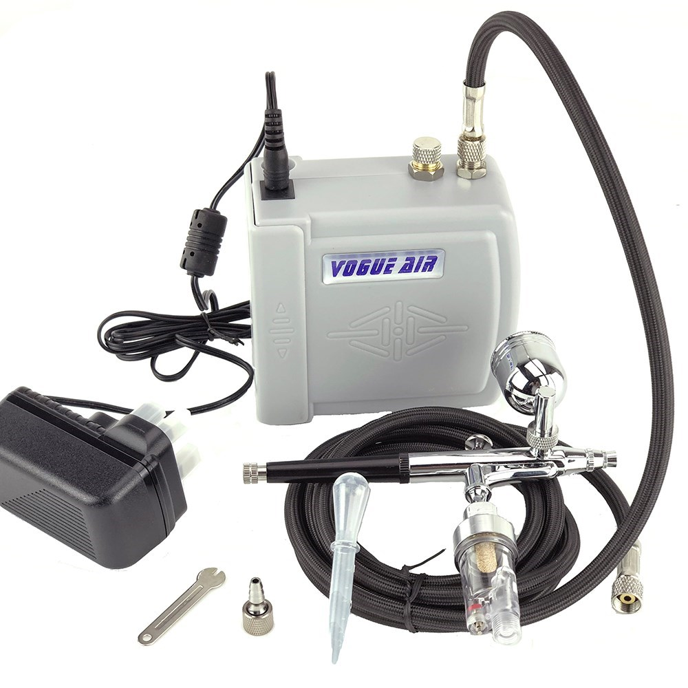 Professional Airbrush Kit With Compressor Car Builder