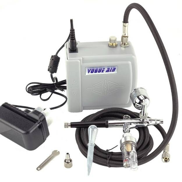 Picture of Professional Airbrush Kit With Compressor
