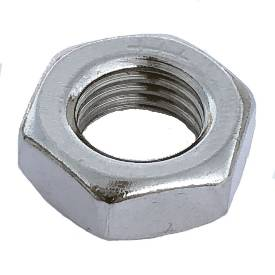 """Picture of 7/16"""" UNF Stainless Half Nut"""