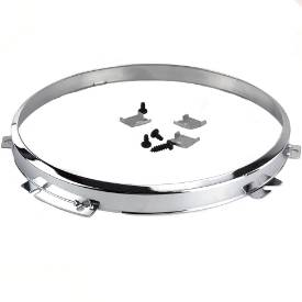 """Picture of Chrome Bezel for 7"""" Headlamps"""