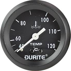 Picture of Mechanical Water Temperature Gauge 57mm Black