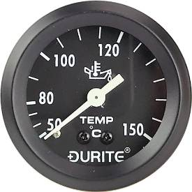 Picture of Mechanical Oil Temperature Gauge 57mm Black