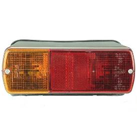 Picture of Stop Tail Indicator Rear Light Cluster  with 45 degree Wedge Mount