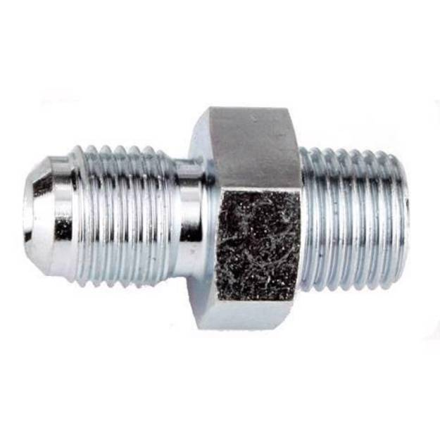 """Picture of Male Adapter M10 x 1mm F to 1/8"""" NPT"""