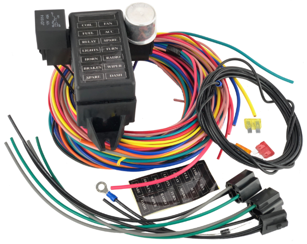 Picture of 14 Circuit Wiring Loom