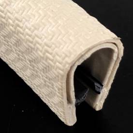 Picture of Embossed White PVC Edge Trim 16mm x 11mm