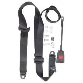 Picture of Securon Static Adjustable Seatbelt Long Stalk Buckle Black