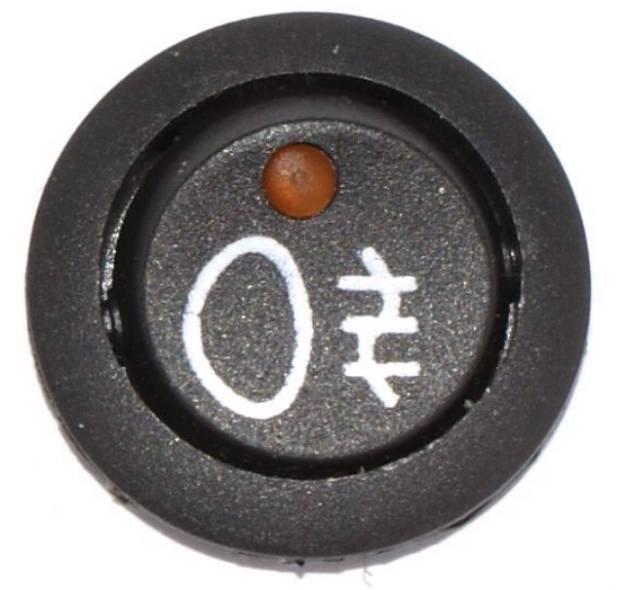 Picture of Mini Rocker Switch Illuminated Rear Fog