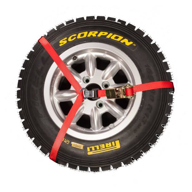 Spare Wheel Tie Down