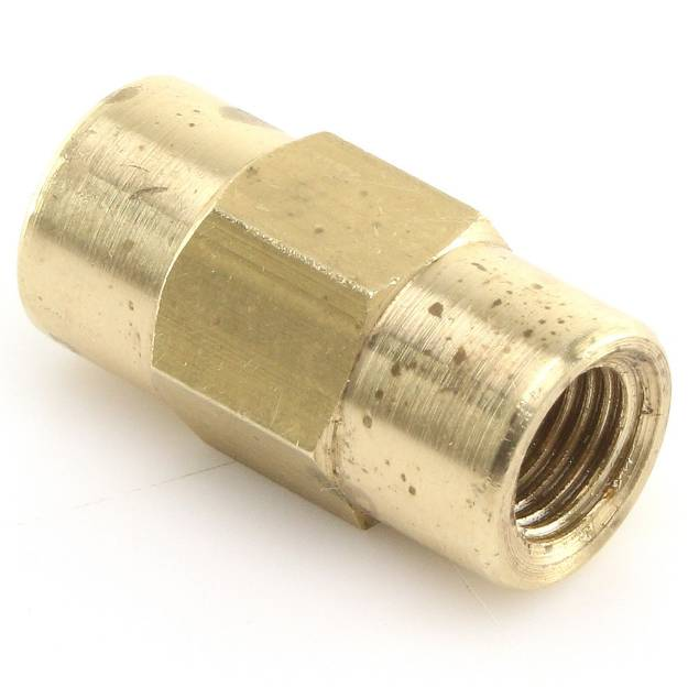 """In-Line Connector 3/8"""" unf Female to 3/8"""" unf Female"""