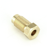 "Brass 3/8"" UNF Single Male Brake Union"