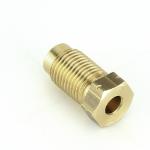 Brass M10 x 1 Single Male Brake Union