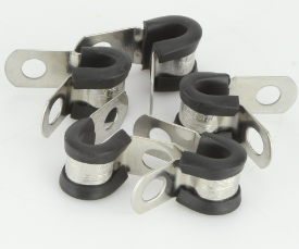 Stainless Steel P-Clips 6mm Pack of 5
