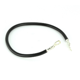 """Earth Strap 18"""" With Two Ring Terminals 460mm"""