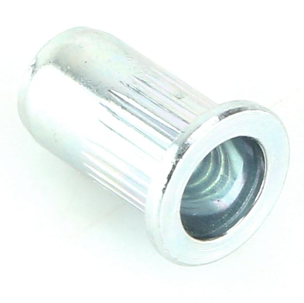 M6 Steel Flat Rivnut Pack Of 10