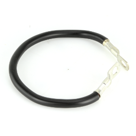 """Earth Strap 12"""" With Two Ring Terminals 300mm"""