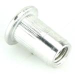 M6 Flat Aluminium Rivnuts Pack Of 10
