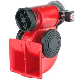 Bild von Red Compact Twin Tone Air Horn