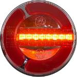 Picture of 140mm LED Round Stop Tail and Sequencing Indicator Lamps Pair