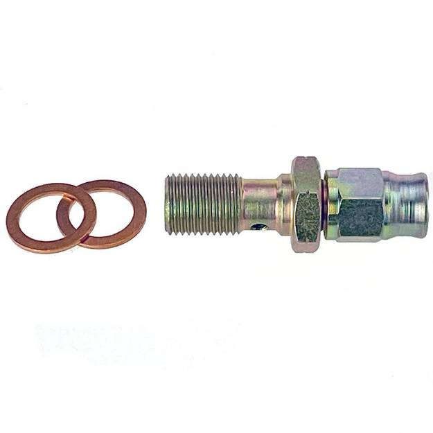 Picture of M10 x 1mm Banjo Bolt to Brake Hose Fitting