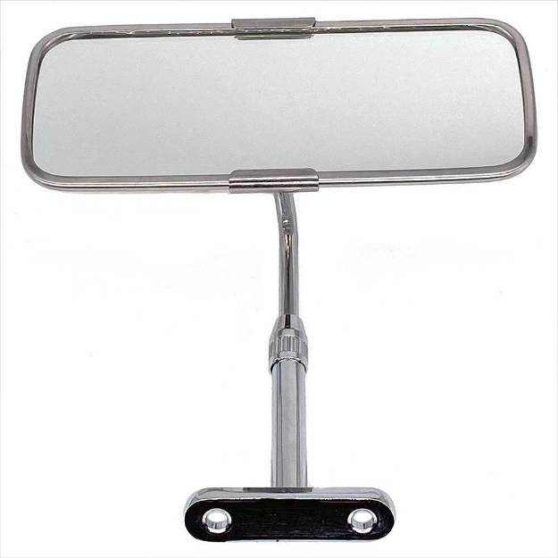 Picture of Classic Stainless Adjustable Height Interior Mirror