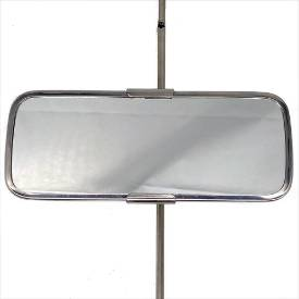 Picture of Small Stainless Rod Mount Sliding Clamp Interior Mirror