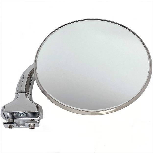 Picture of Round Clip-On Overtaking Mirror With 90 Degree Mount 102mm