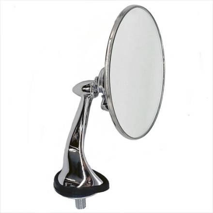 stainless-and-chrome-round-wing-mirrors-handed-pair-flat-glass