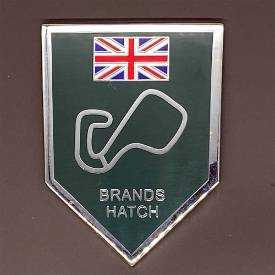 Picture of Brands Hatch Self Adhesive Chrome and Enamel Badge