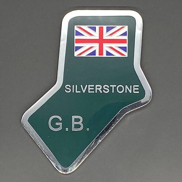 Picture of Silverstone Self Adhesive Chrome and Enamel Badge