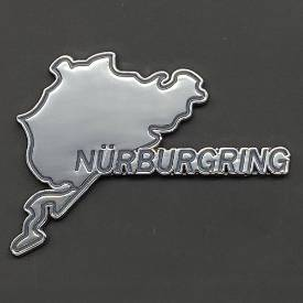 Picture of Nurburgring Self Adhesive Chrome and Enamel Badge