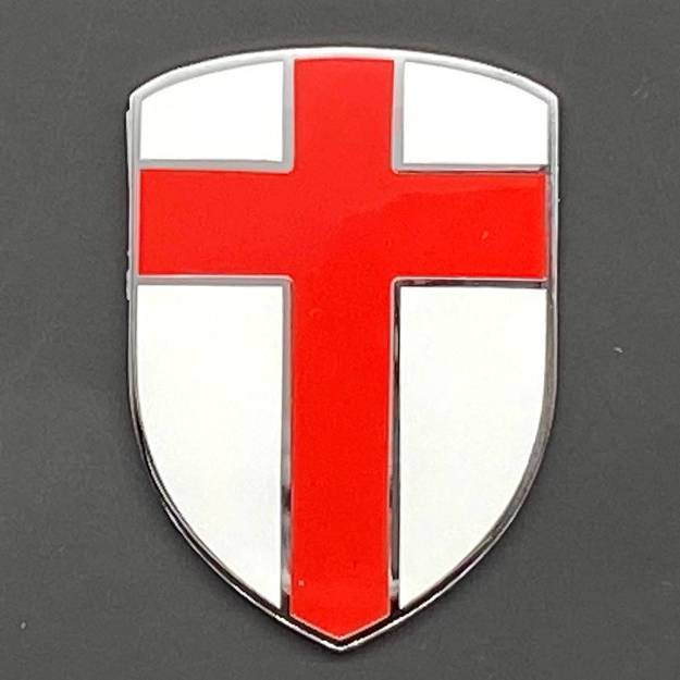 Picture of Crusader Enamel George Cross Badge Self-Adhesive