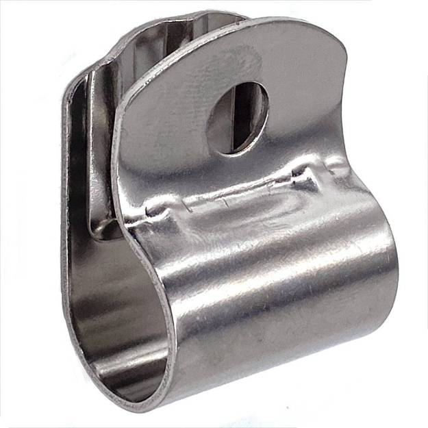 Picture of Single Spotlight Clamp Stainless Steel For Badge Bar