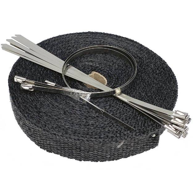 Picture of 25mm Black Exhaust Wrap