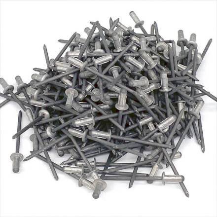 3mm-x-8mm-dome-head-aluminium-rivets-pack-of-200-new-old-stock