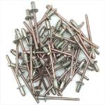 Picture of Copper Nickel 4.8mm x 7.5mm Dome Head Rivets Pack of 50 NEW OLD STOCK
