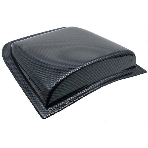 Picture of Carbon Effect ABS Bonnet Scoop