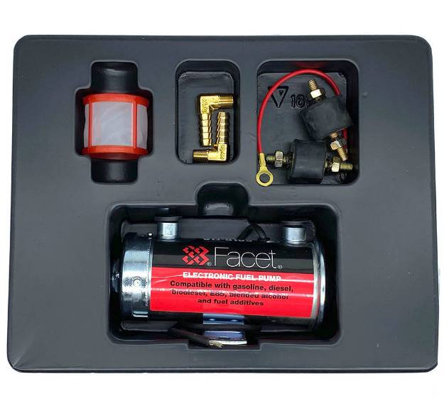 Picture of Facet Cylindrical Silver Top Road Fuel Pump Kit