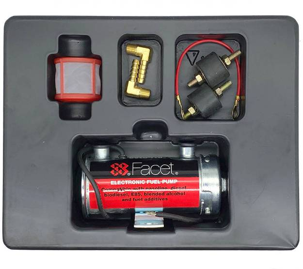 Picture of Facet Cylindrical Competition Silver Top Road Fuel Pump Kit