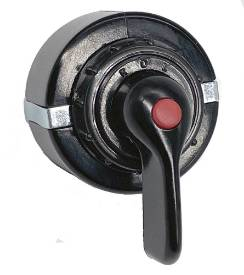 Picture of Black lever Rotary Indicator  Switch