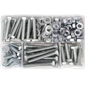 Picture of M10 Nut And Bolt Selection Pack Of 145