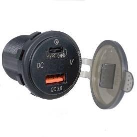 Bild von USB-A and USB-C Fast Charging Twin Socket