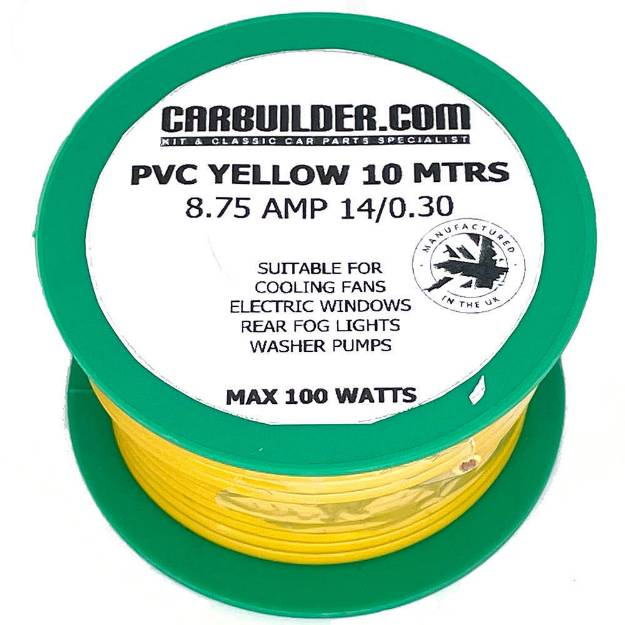 Picture of 8 Amp Single 10 Metre Yellow