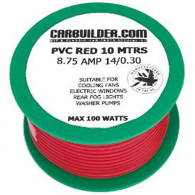 Picture of 8 Amp Single 10 Metre Red