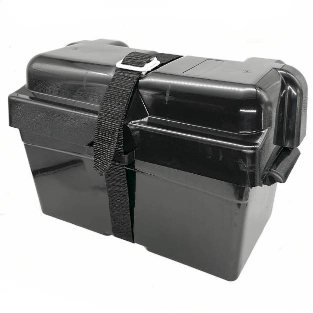 Picture of Extra Large Moulded ABS Battery Box